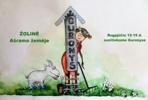 Rugpjūčio 12-15 d. sutikime Žolinę Guronyse
