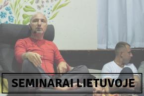 Artimiausi seminarai Lietuvoje