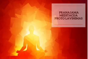 Pranajamos, meditacijos ir proto lavinimo kursas