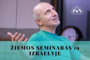 Žiemos seminaras'19 Izraelyje