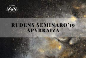 Prisimenant Rudens seminarą'19